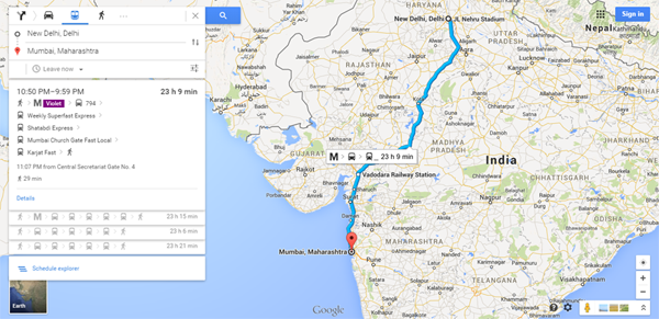 google-map-india-rail